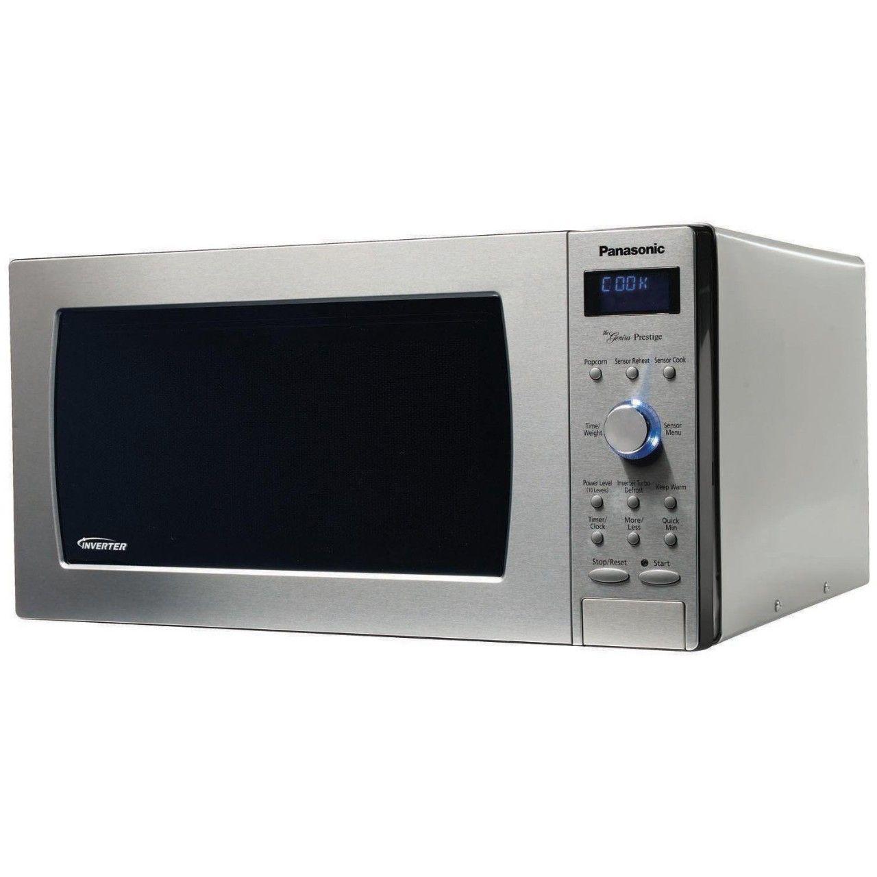 Panasonic Prestige NN-SD797S, 1.6cuft 1250 Watt Sensor Microwave Oven Panasonic 1250 Watt Microwave > http://computer-s.com/microwave-ovens/panasonic-1250-watt-microwave-inverter-technology-microwave-oven/