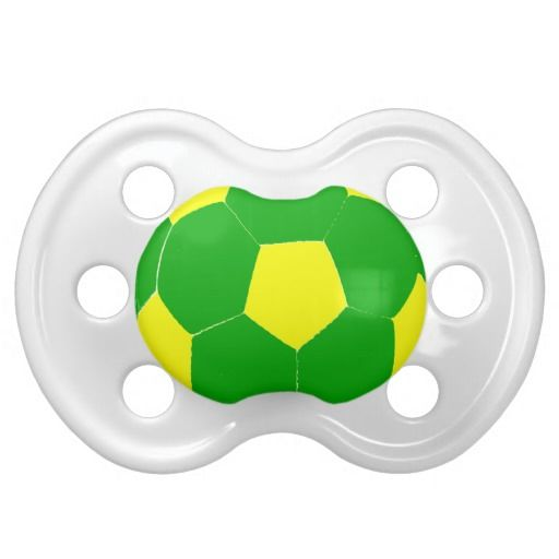 Soccer Ball Baby Pacifier
