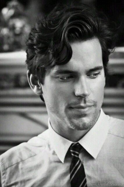 Matt Bomer White Collar Hairstyle