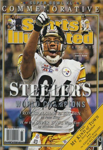 8fd8405967f Amazon.com - Hines Ward Sports Illustrated Autograph Poster - Steelers  Champs! - Prints