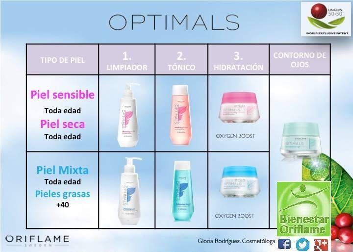 Conoce la línea #Optimals #Oriflame con sus dos presentaciones. Optimals de #Oriflame es nuestra línea más adaptable para toda edad y tipo de piel.