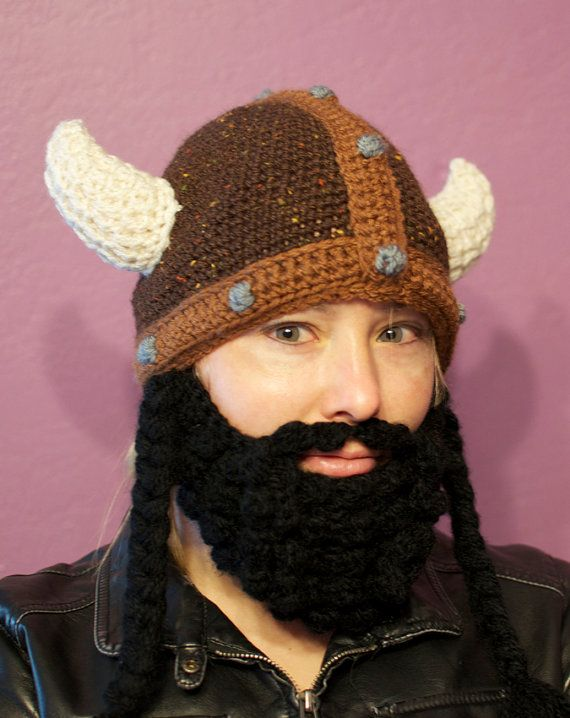 Bearded Epic Viking Hat by stellaquinn on Etsy, $54.00 | hats/men ...