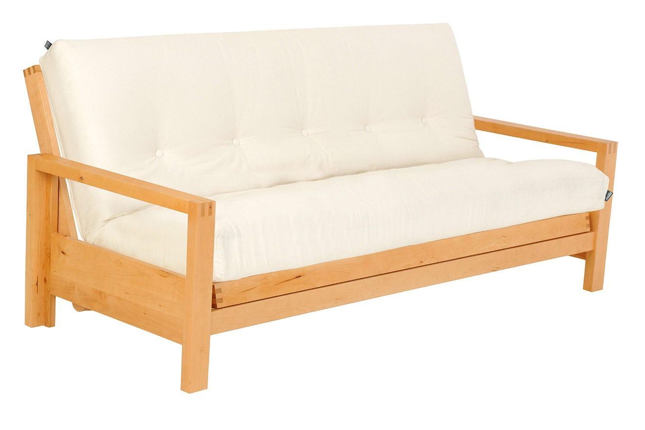 Quad 3 Seater Birch Sofa Bed Three