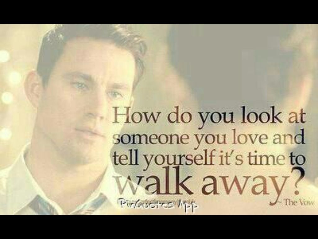 The Vow Quotes | The Vow Such A Sad Quote Quotes Pinterest Quotes Sayings And