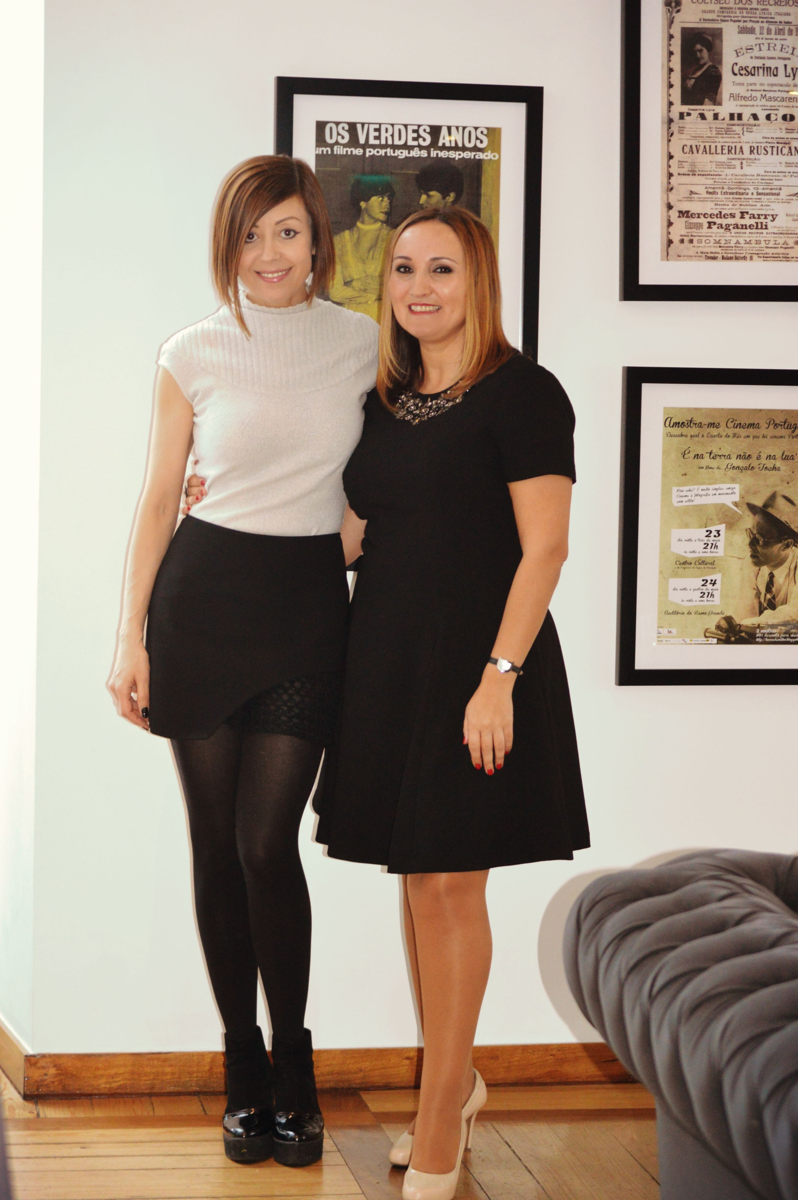 with my friend and fashion designer fátima lopes  6th