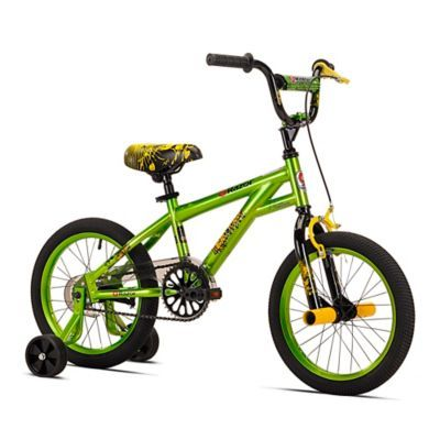Razor Microforce 16 Inch Boy S Training Bicycle In Green Black