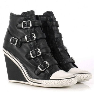 Ash Thelma Wedge Buckle Trainers