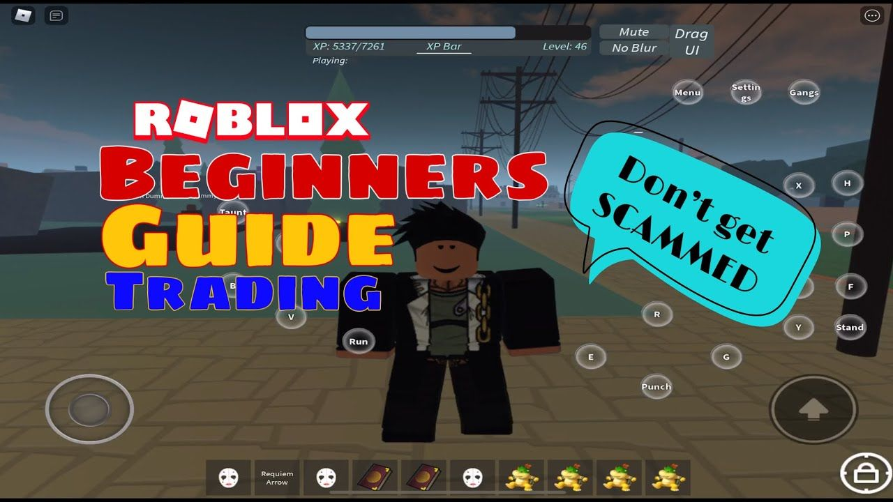 Roblox Jojo How To Get A Stand Beginners Guide On How To Trade Stands Items In Stand Upright How Not In 2020 Beginners Guide Beginners Trading