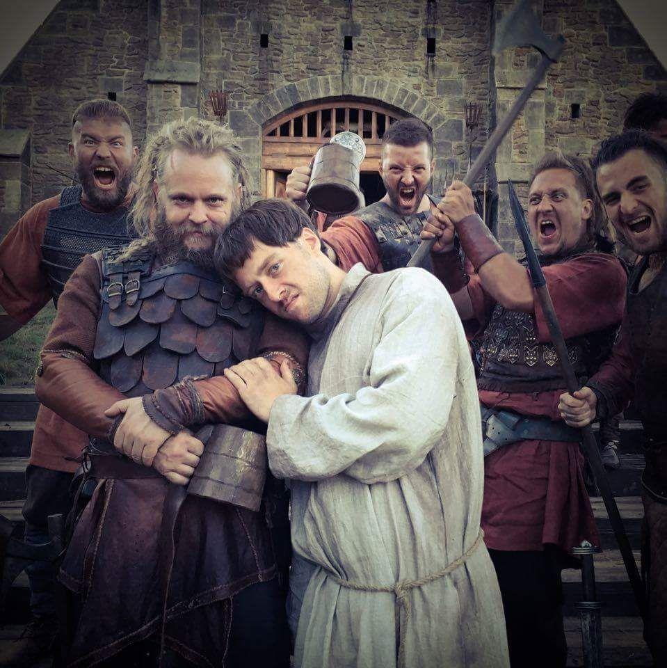 Jeppe Beck Laursen On The Last Kingdom The Last Kingdom Cast Richard Rankin
