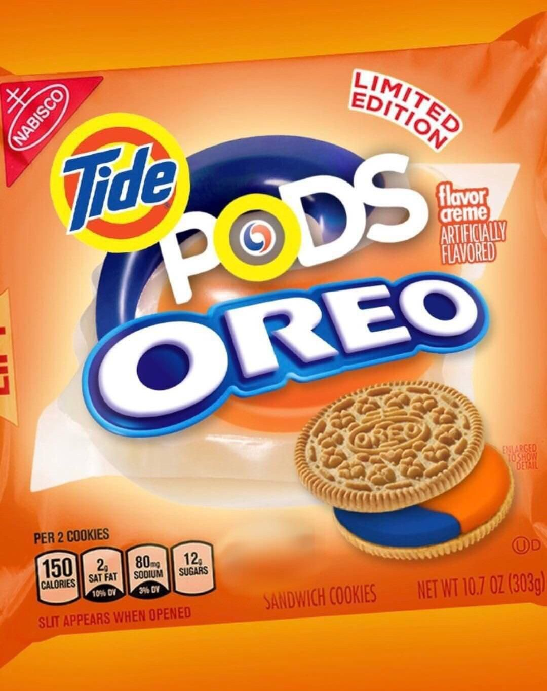 What our world has come to Weird snacks, Weird oreo