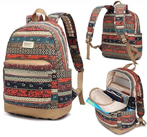 Bohemian Water Resistant Laptop Backpack with Massage Cushion Straps for Laptop up to 15.6-Inch #backpacks
