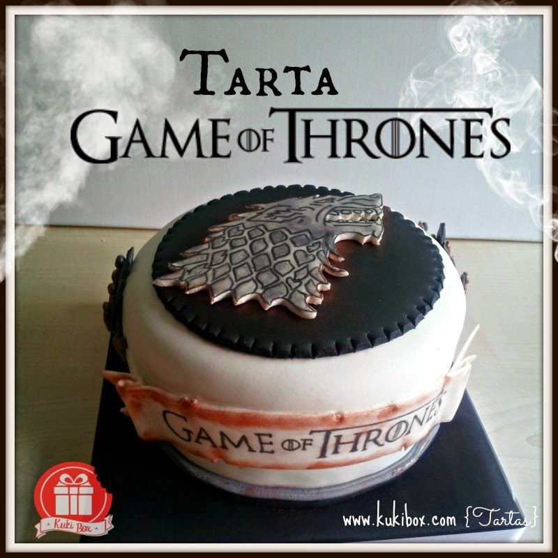 Kuki Box Tartas Y Galletas En Valencia Game Of Thrones Cake Game Of Thrones Party Cake Games