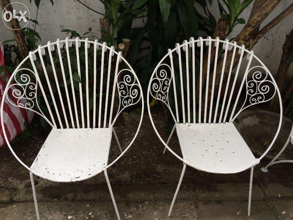 View Vintage Wrought Iron Garden Set For Sale In Quezon City On