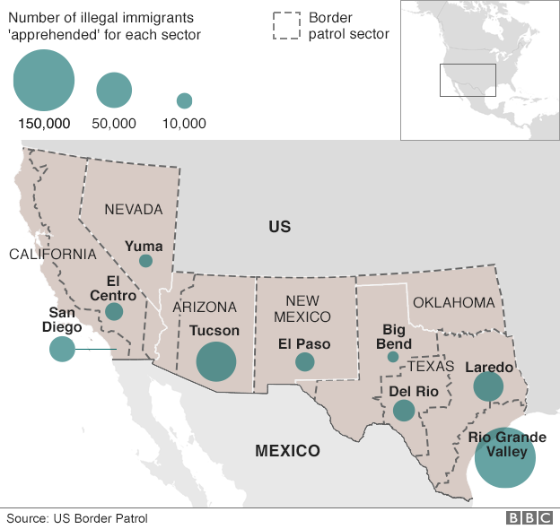 Mexico We Will Not Pay For Trump Wall Rio Grande Valley - Map of us mexico wall