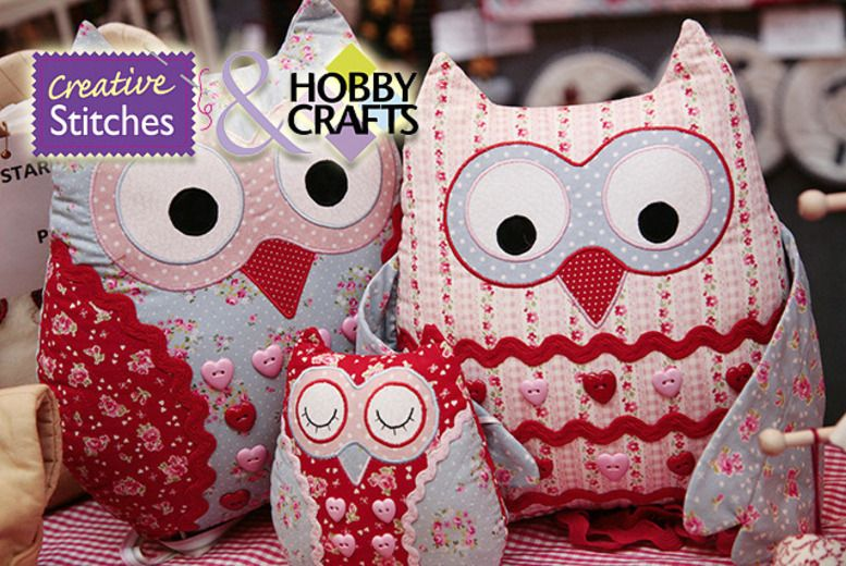 Stitching, Sewing & Hobbycrafts Show - Sept 2014 Manchester. Discount voucher for half price tickets.