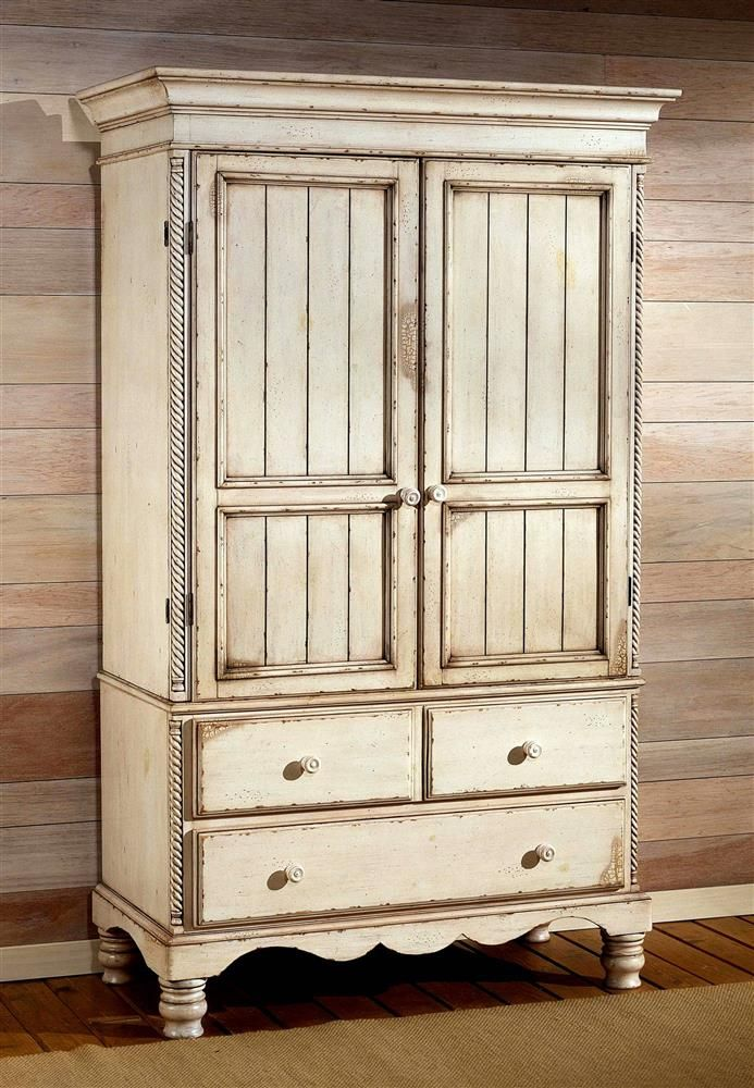 One moment please... | Distressed white bedroom furniture ...