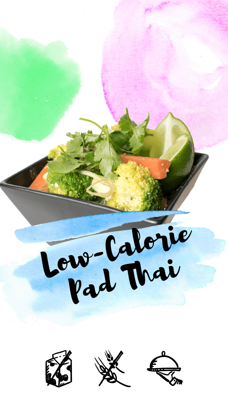 900 Calorie Dinner low-calorie pad thai