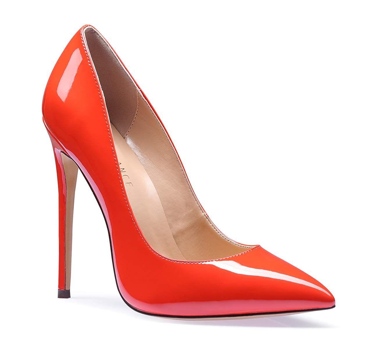 025f597343dcd $29.90 and up SUNETEDANCE Women's Slip-on Pumps High Heels Pointy ...
