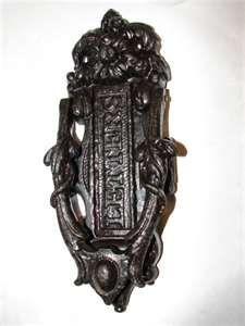 Robinson S Antique Hardware Door Knockers Under Lock And Key