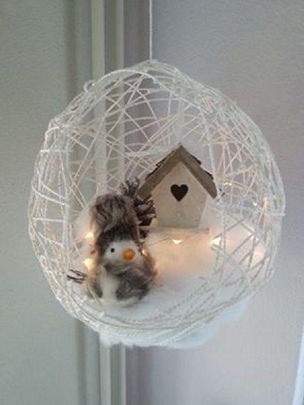 11 h bsche niedliche lustige und preiswerte ideen f r weihnachten diy bastelideen winter. Black Bedroom Furniture Sets. Home Design Ideas