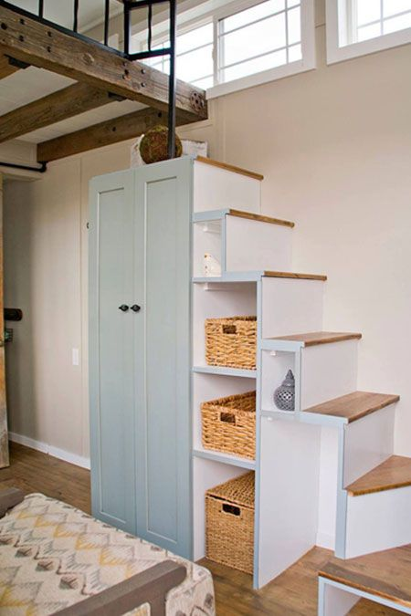 Photo of Tiny House Stairs: How To Build Them And Clever Design Ideas With Photos | The Tiny Life