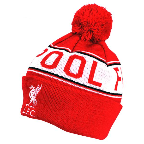Liverpool Text Cuff Knitted Hat  f7d94d96f00