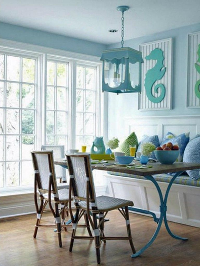 40 Amazing Beach Style Dining Room Decorating Ideas With Images