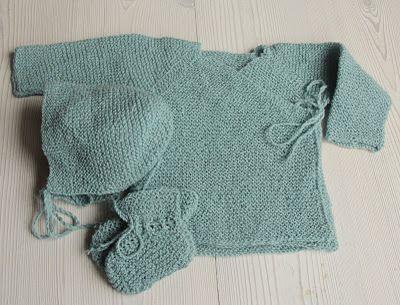 Knitting- baby set