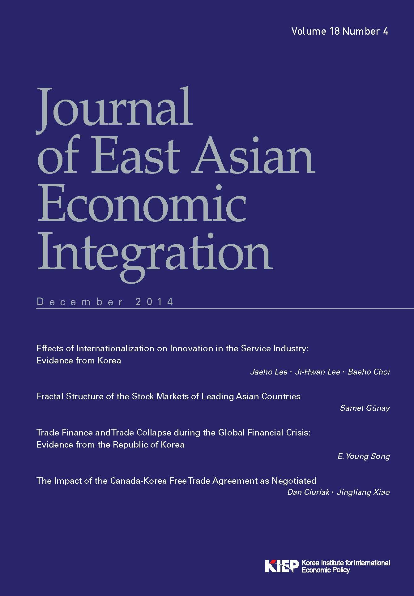 Online Homeland Security The Journal Of East Asian Economic