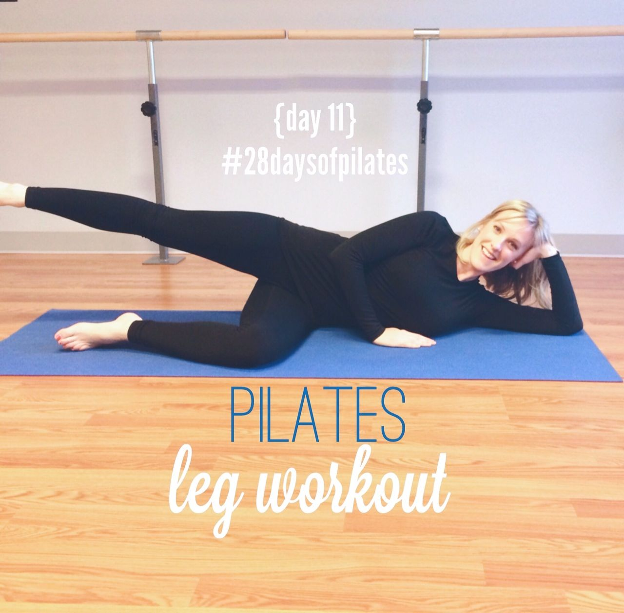 28 Days of Pilates: day #12 + giveaway winner! #pilatesworkoutroutine