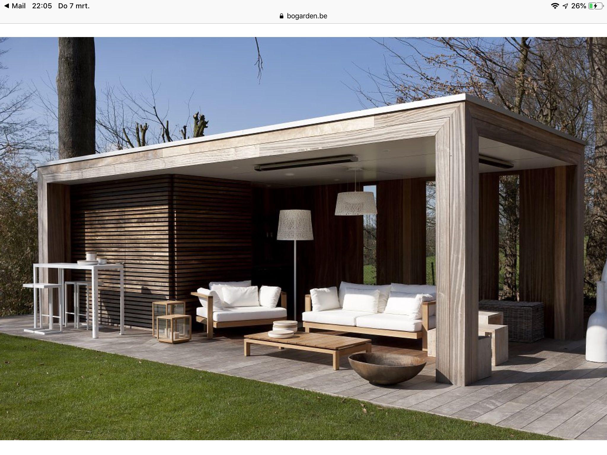 Pin von Margit Beyer auf Gartenhaus Gartenhaus modern
