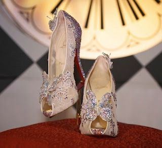 Louboutin makes Fantasies come true with the new Cinderella slipper
