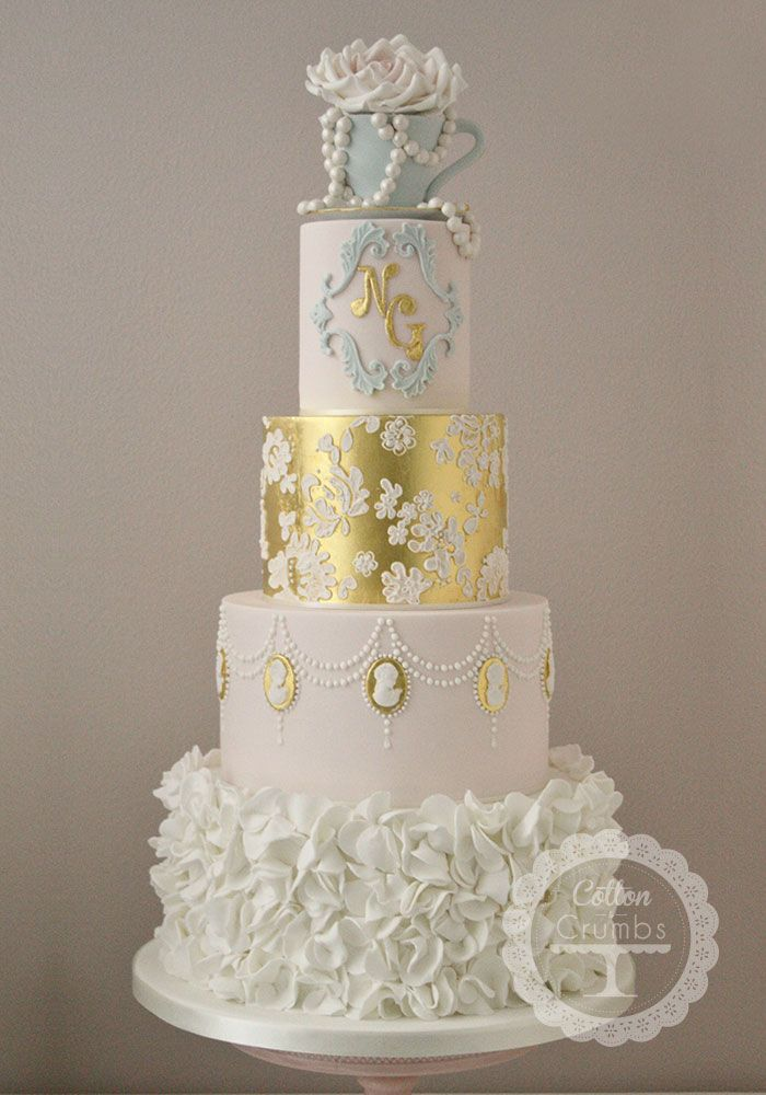 Cotton Crumbs Specialise In Creating Beautiful Bespoke Award Winning Wedding Cakes For The West Midlands