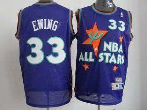 95-96 NBA All-Star #33 Patrick Ewing Purple Swingman Classic Classic  Basketball Jersey 95-96 NBA All-Star #33 Patrick Ewing Purple Swingman  Classic Classic ...
