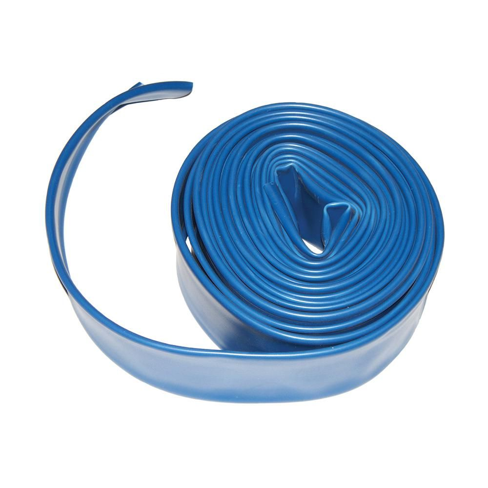 Plastiflex 2 in. x 200 ft. Flat Backwash Hose Pool
