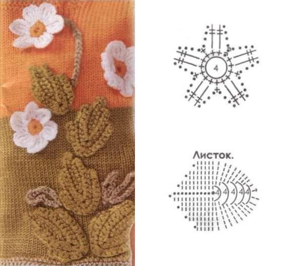 Flores Crochet - Poii Abalorios - Picasa Web Albums