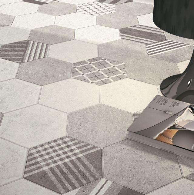 hexatile cement pour la maison revetement sol. Black Bedroom Furniture Sets. Home Design Ideas