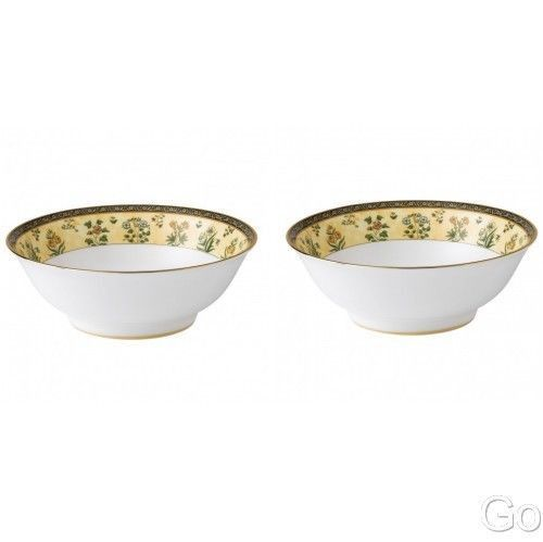 Wedgwood India Noodle Bowl 2 Two Bowls New With Tag Wedgwood