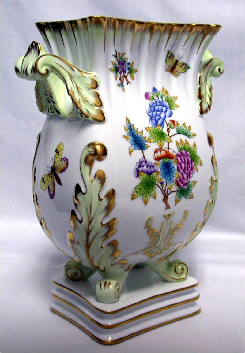 Hungarian Porcelain Herend Porcelain Vases Amp Urns