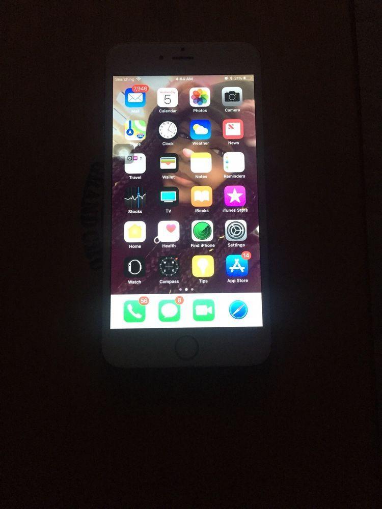 Apple iphone 6 plus 64gb rose gold unlocked a1524