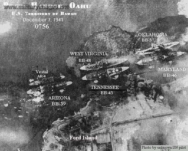 Pearl harbor aerial photo december 71941 using this photo research pearl harbor aerial photo december 71941 using this photo research the timeline of attack have your students identify when each ship was hit fandeluxe Gallery