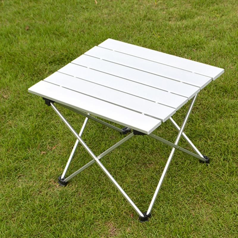 40 * * Outdoor Camping Beach Folding Table Aluminum Table Top Portable Table  For Beach Picnic Camp Patio Fishing