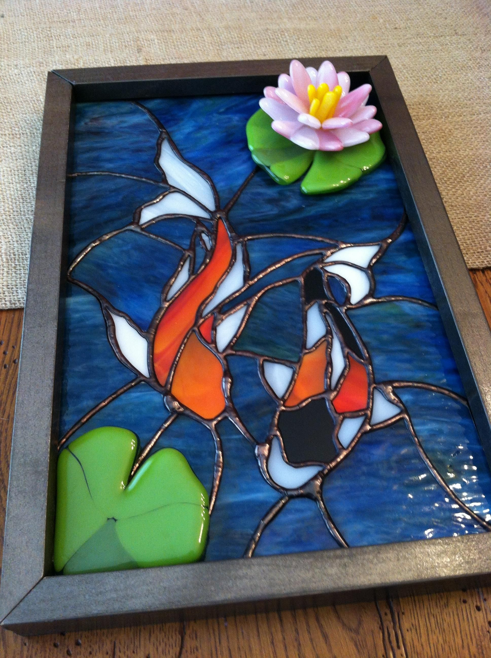 Koi Fish - from Delphi Artist Gallery | Stained Glass We Love ...
