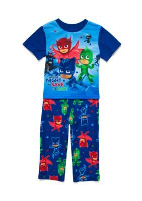 Pj Masks Boysu0027 U0027Save The Dayu0027 2 Piece Pajama Set Toddler Boys