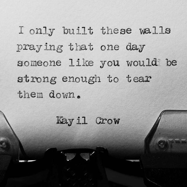 My Walls Were Meant To Be Torn Down Writer Writing Poetry