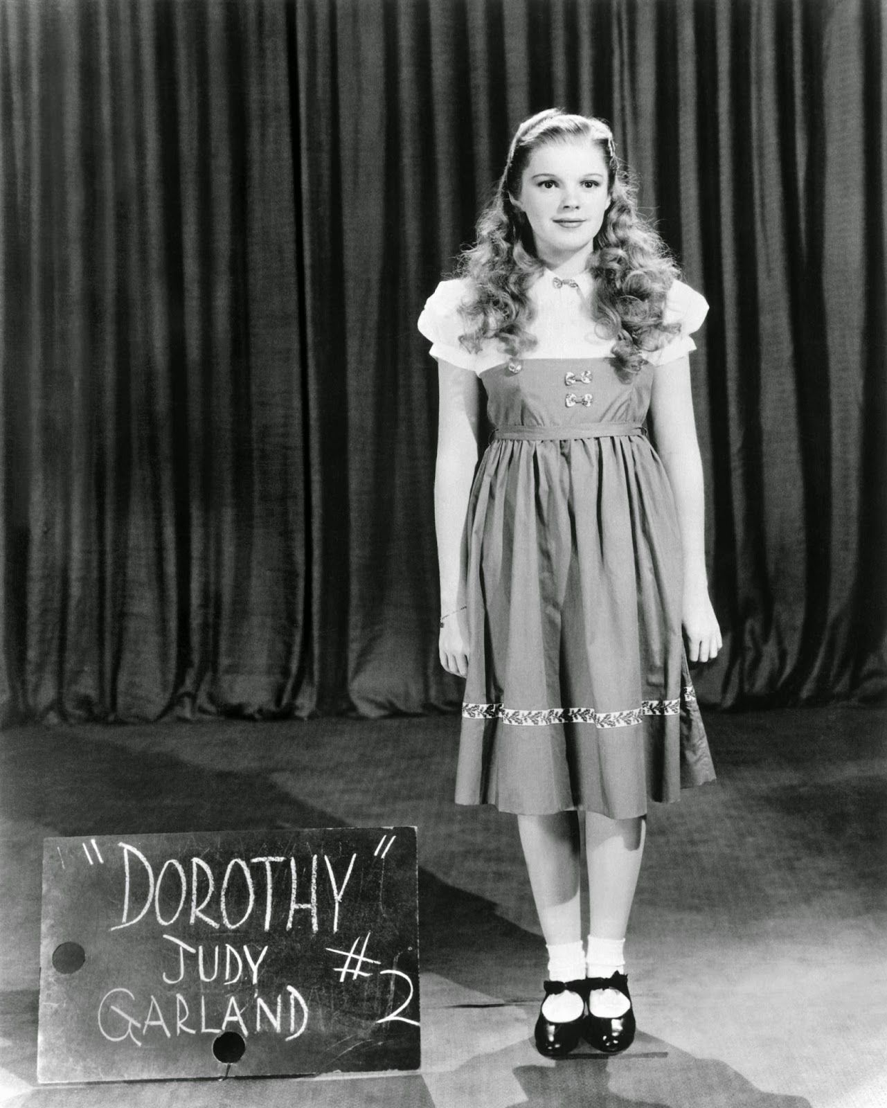 Judy Garland as the original blonde Dorothy - The Wizard of Oz ...