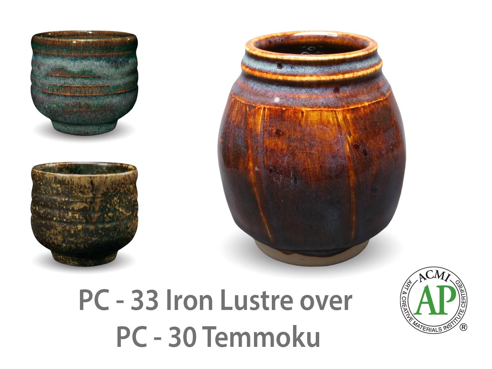 Http Www Amaco Com Cpwp Wp Content Uploads 2012 11 Pc33 Over Pc30 Cup Layering Pp Jpg Glazes For Pottery Ceramic Glaze Recipes Amaco Glazes