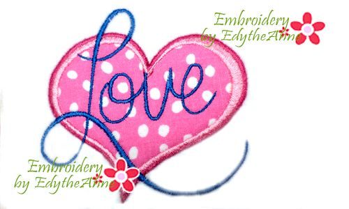 Free Machine Embroidery Applique