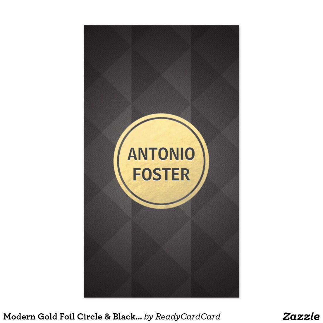 Diamond business card designs best business cards modern gold foil circle black diamond designer business card magicingreecefo Choice Image