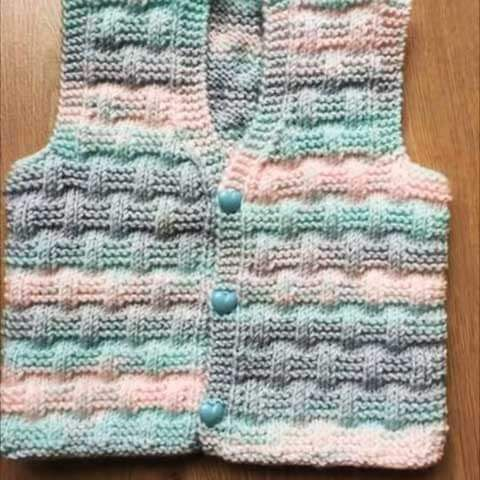 Photo of Two Color Knit Baby Vest Models 2018 | I M-Visible.co